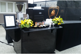 coffee catering cart in Bellevue