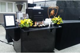 coffee catering cart in Bellevue